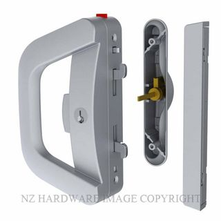 YALE AL911310SC ALBANY ENDEAVOUR DOUBLE KEYED SLIDING DOOR LOCK SATIN CHROME