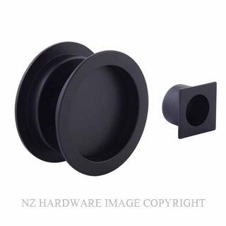 EZSET EZ601RNDBLK CAVITY SLIDER PASSAGE KIT ROUND MATT BLACK