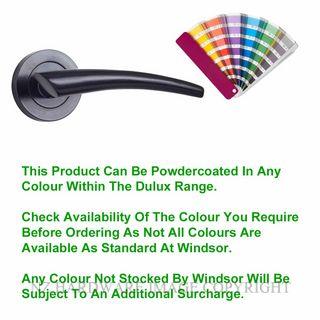 WINDSOR 9026-9053 PC TALON LEVER ON ROSE POWDERCOAT