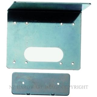 ISEO 52012 MOUNTING PLATE STAINLESS STEEL