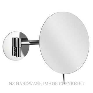 SUPREME ALISEO COSMO MINIMALIST ROUND WALL MIRROR CHROME PLATE
