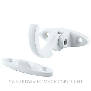 JAECO 24 SPUR FASTENER - SOLID BRASS WHITE