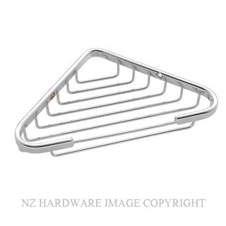 JAECO SMALL CORNER BASKET 155MM X 155MM CHROME PLATE