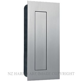 JNF IN16400 RECTANGULAR FLUSH HANDLE WITH COVER 135X70MM