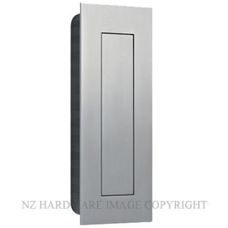 JNF IN16402 RECTANGULAR FLUSH HANDLE WITH COVER 135X55MM