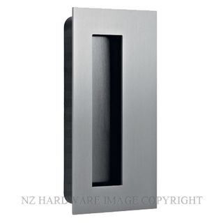 JNF IN16410 RECTANGULAR FLUSH HANDLE 135X70MM