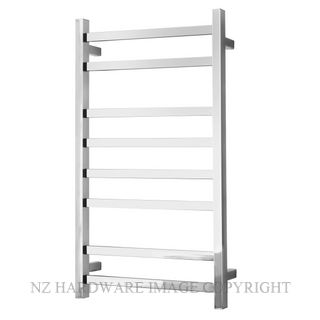 ALEXANDER ELAN 8A08 8 BAR HEATED TOWEL LADDER STAINLESS STEEL
