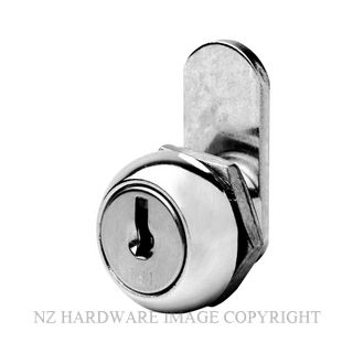 FIRSTLOCK NX11R CAM LOCK 11MM CHROME PLATE