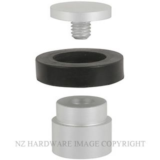 NZH 1087 SC 2 PIECE DOOR STOP FLOOR MOUNT