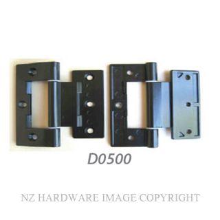 NZHHD0500 HINGE - APL 90MM BLACK