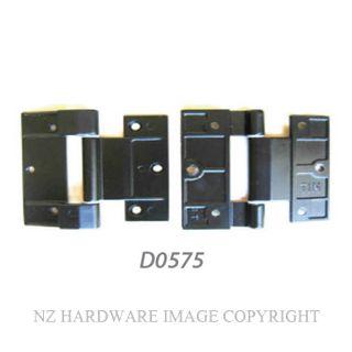 NZHHD0575 HINGE - ALTHERM & VANTAGE 90MM TIM DOOR BLACK