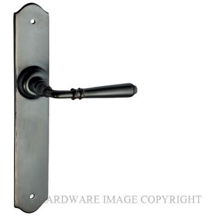 TRADCO 0746 REIMS LEVER LATCH ANTIQUE COPPER