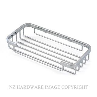 HEIRLOOM BRAYDEN BBSP SPONGE RACK CHROME PLATE