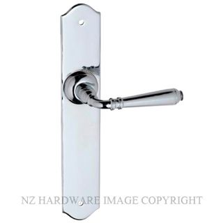 TRADCO 0777 REIMS LEVER LATCH CHROME PLATE