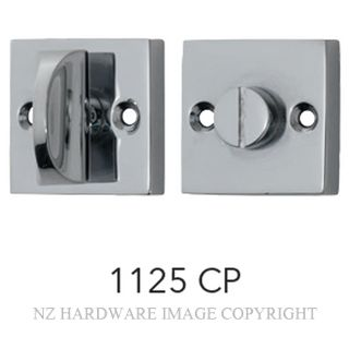 TRADCO 1125 SQUARE PRIVACY TURNS CHROME PLATE