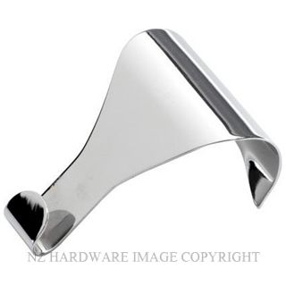 TRADCO 1547 PICTURE RAIL HOOK PLAIN SB CHROME PLATE