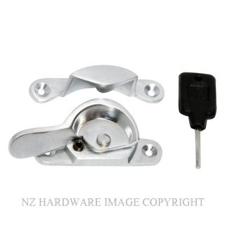 TRADCO 1619 SASH FASTENER LOCKING SATIN CHROME