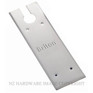 BRITON SP7500 CP COVER PLATE SATIN STAINLESS