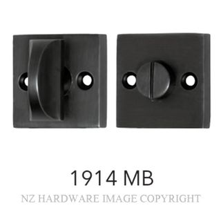 TRADCO 1914 SQUARE PRIVACY TURNS MATT BLACK