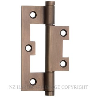 TRADCO 2398 HINGE HIRLINE 89X35MM ANTIQUE BRASS