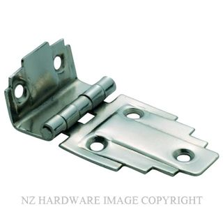 TRADCO 3798 OFFSET HINGE (STEPPED) SI 63 X 32MM SATIN NICKEL