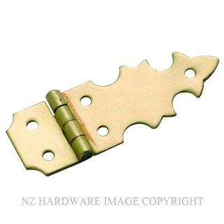 TRADCO 3723 BOX HINGE (PAIR) SB 45 X 16MM POLISHED BRASS