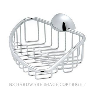 HEIRLOOM DIVA F421 SHOWER CORNER BASKET CHROME PLATE