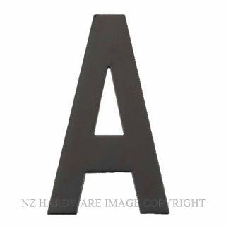 MILES NELSON 722 LETTERS (A-E) MATT BLACK