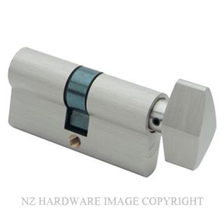 SCHLAGE SCSP SRP32068 KEY & TURN EURO CYLINDER SATIN CHROME