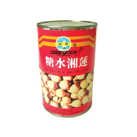 LOTUS NUTS IN SYRUP 480G CAN