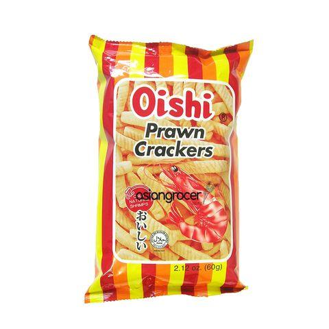 CLASSIC PRAWN CRACKERS OISHI 60G