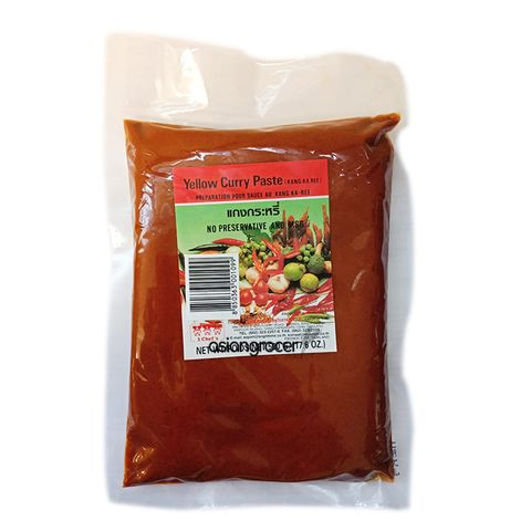 3 CHEFS YELLOW CURRY PASTE 500G