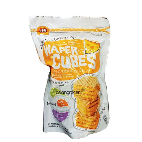 LEE CHEESE WAFER CUBES 180G