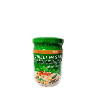 CHILI PASTE SWEET BASIL LEAF COCK 200G