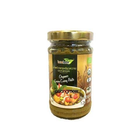 ORGANIC GREEN CURRY PASTE LUM LUM 120G