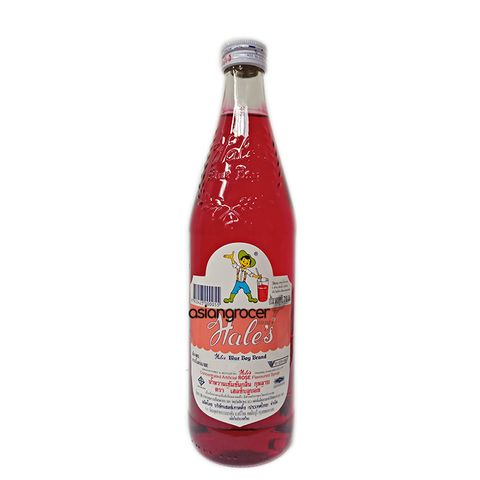 HALES SYRUP ROSE 710ML
