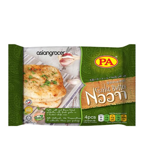 PA GARLIC BUTTER NAAN 4PCS/75G