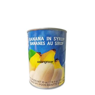 BANANA IN SYRUP COCK 565G
