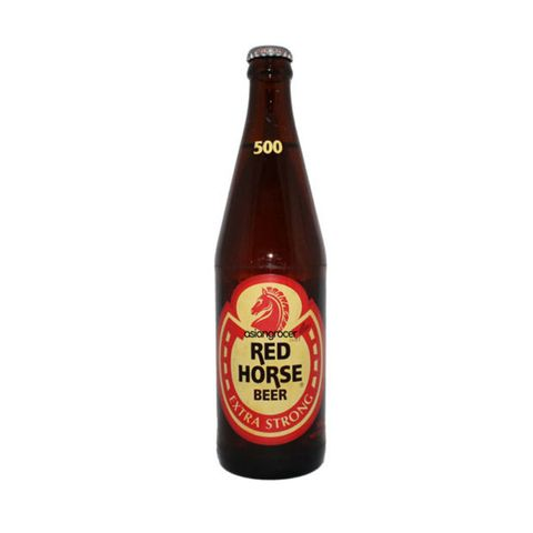 SAN MIG RED HORSE BEER 7% ALC 500ML