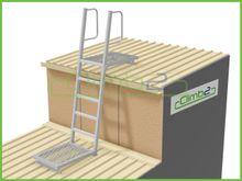 Climb2 Modular Mini Fixed Access Ladders