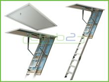Climb2 Concealed + Fold Down Access Ladders