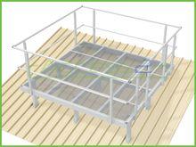 Access2 Engineered Modular Platforms with Handrails