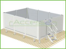 Access2 Engineered Modular Platforms with Acoustic Screens
