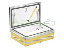 Access2 Fire Rated Roof Access Hatch - 1,200mm x 1,200mm