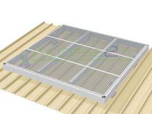 Access2 Engineered Modular Aluminium Platform Kit [0-5 degrees] - 6.6m x 6.6m