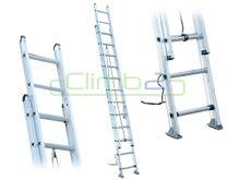 Climb2 Extension Ladder [150kg] - 3.6m/6.4m [Reach Height 7.4m]
