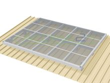 Access2 Engineered Modular Aluminium Platform Kit [0-5 degrees] - 3.0m x 4.8m