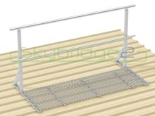Skybridge2 Aluminium Walkway Kit [0-5 degrees] - 600mm x 6,000mm - Handrail on 1 Side