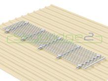Skybridge2 Aluminium Walkway Kit [15-24 degrees] - 600mm x 6,000mm - No Handrail