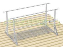 Skybridge2 Aluminium Walkway Kit [0-5 degrees] - 600mm x 6,000mm - Handrail on 2 Sides